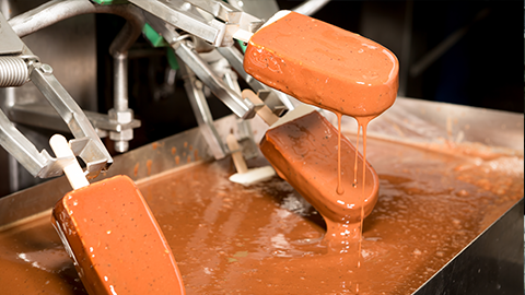 Study of energy efficiency in the consumption pattern of the chocolate coating line