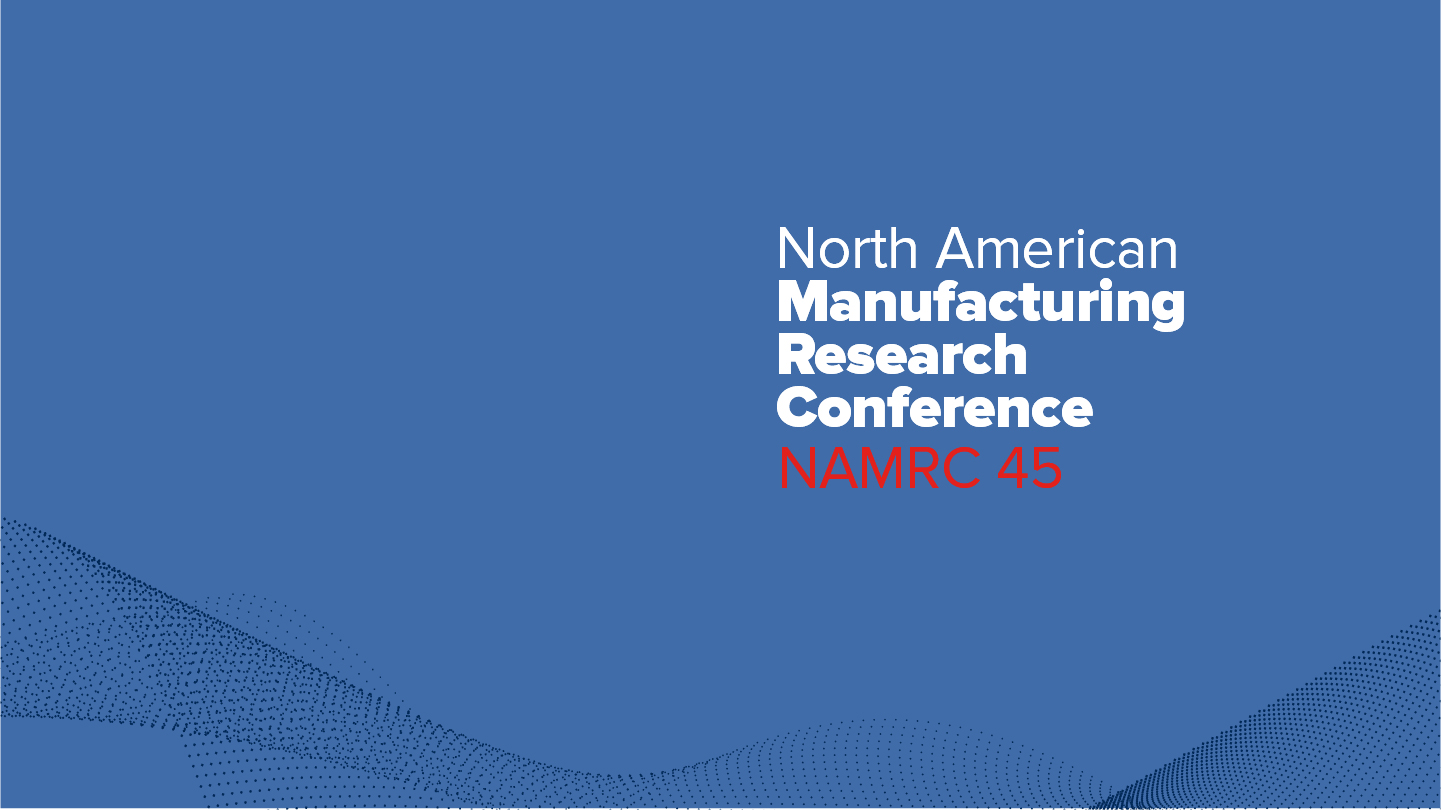 Plethora IIoT, present at the prestigious North American Manufacturing Research Conference