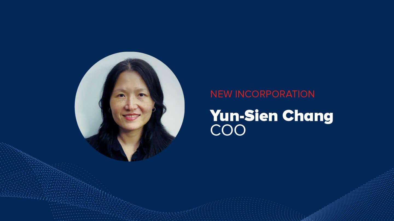 Aingura IIoT welcomes Yun-Sien Chang as COO