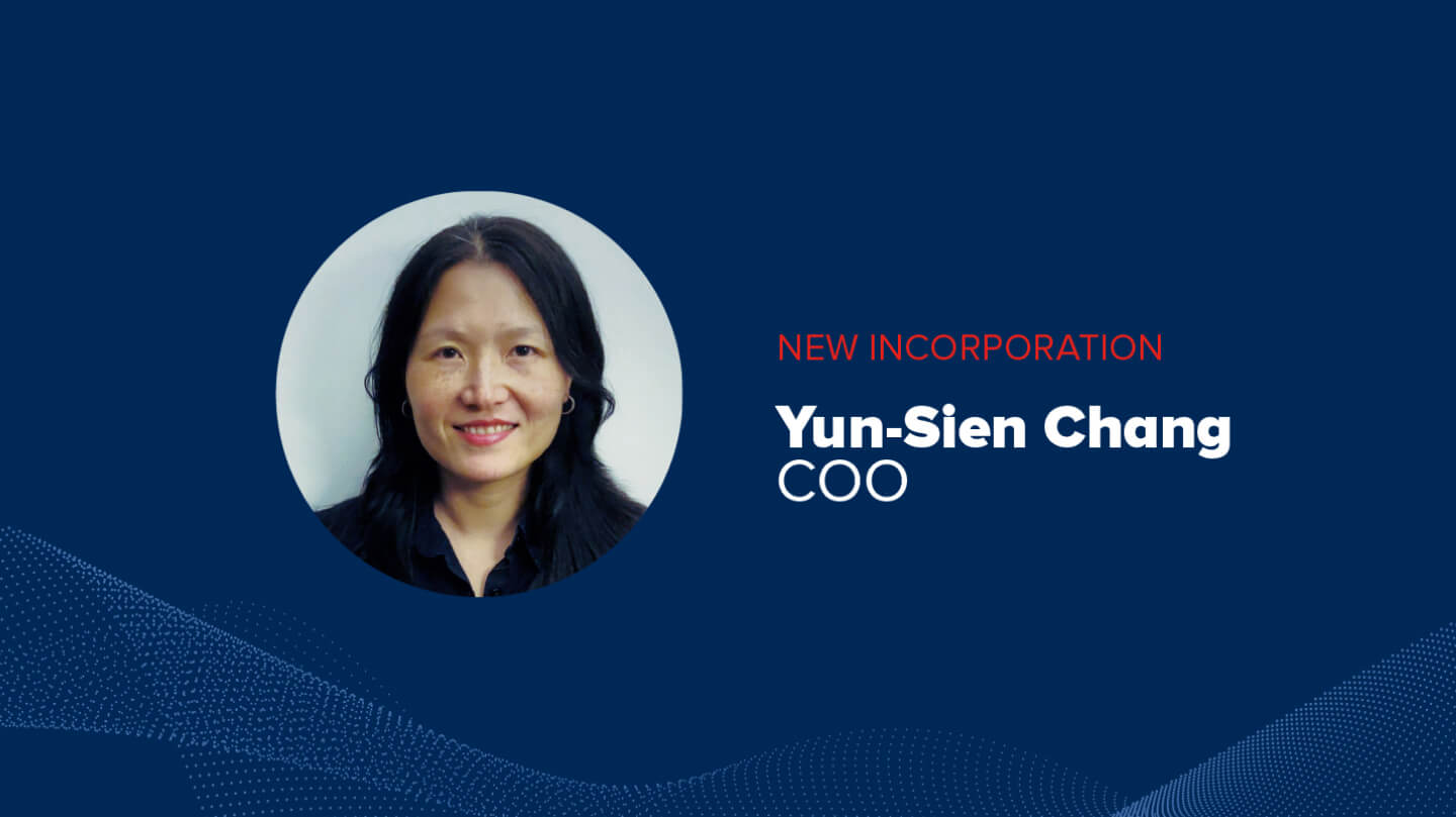 Aingura IIoT welcomes Yun-Sien Chang as COO