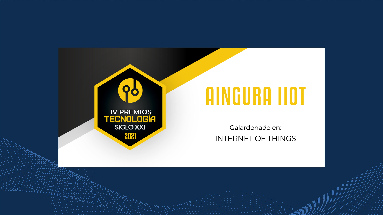 "Aingura IIoT awarded as ""Best Internet of Things Company"""